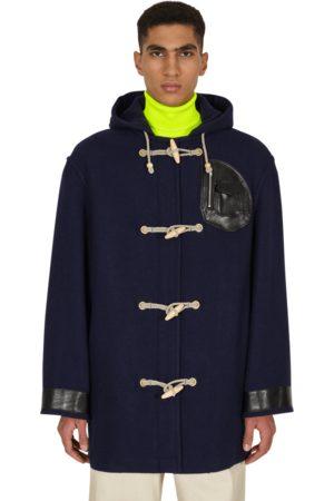 Maison Margiela Men Duffle Coat - Wool duffle coat NAVY M