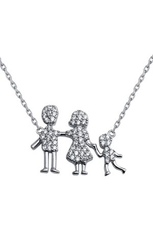 Boys Necklaces - Women's Sterling Silver Family Pendant One Boy Necklace Cosanuova