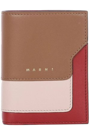 Marni Saffiano leather wallet