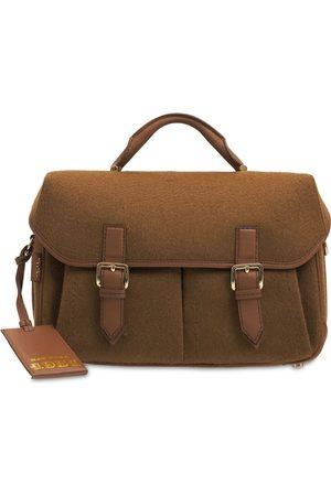 Max Mara Annal4 Double Camel Top Handle Bag