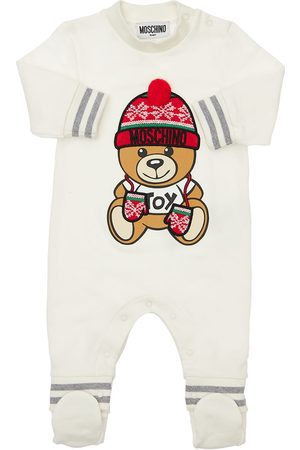MOSCHINO Toy Christmas Cotton Romper