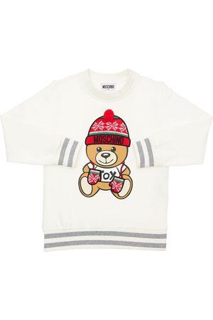 MOSCHINO Toy Christmas Cotton Sweatshirt