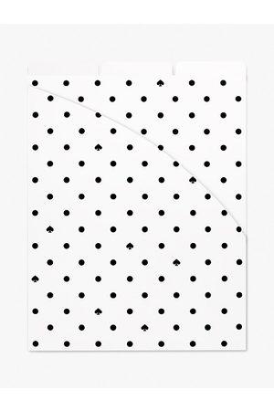 Kate Spade Spade Dot Vertical File Folder Set