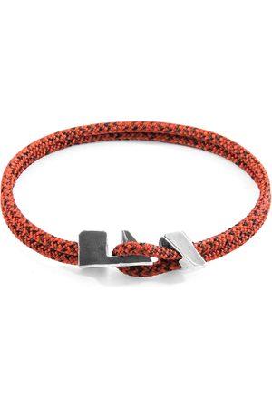 Anchor & Crew Men Bracelets - Noir Brixham & Rope Bracelet