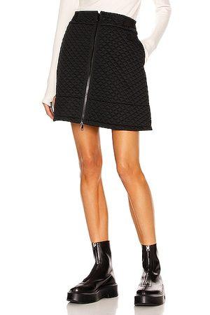 Moncler Zip Up Mini Skirt in