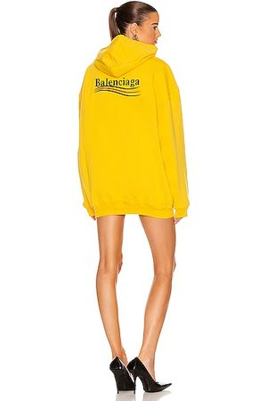 Balenciaga Political Campaign Medium Fit Hoodie in