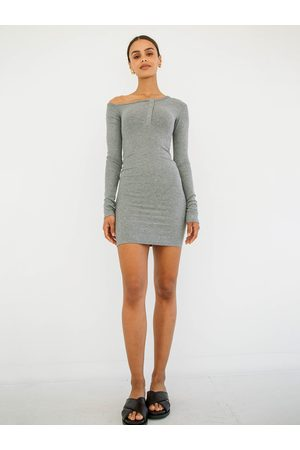 The Line By K The Rori Dress in Heather Grey