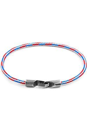 Anchor & Crew Project-Rwb Red White & Blue Talbot & Rope Bracelet