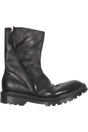 Premiata Leather biker boots