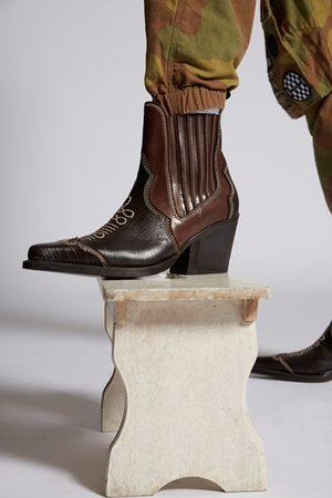 Dsquared2 Men Boots - Men Boot Dark