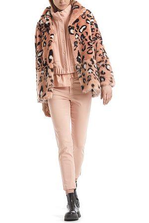 Marc Cain Glamorous Leopard Faux Fur