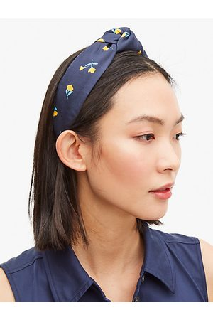 Kate Spade Gardern Ditsy Headband, Light Adriatic