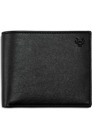 Men Wallets - Men's Vegan Black Leather Classic Eco Wallet In Watson & Wolfe