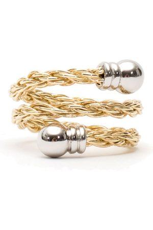 Men's Gold Velvet Rope Ring Serge DeNimes
