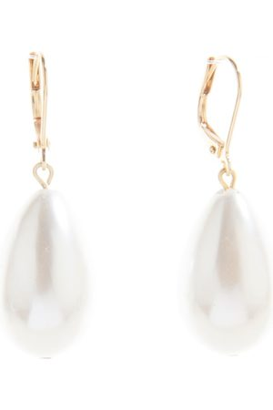 Women's Artisanal Gold/White Girl With A Pearl Earrings SALOME
