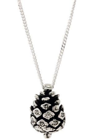 Lee Renee Baby Pine Cone Necklace - Silver