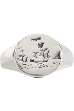Men Rings - Men's Silver Mirage Ring Serge DeNimes