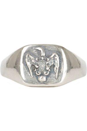 Men Rings - Men's Silver Lyra Ring Serge DeNimes