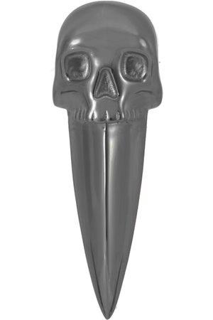 NORTHSKULL Skull Fang Earring In Gunmetal