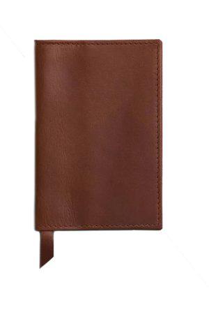 Men's Brown Leather Classic Tan Passport Cover VIDA VIDA