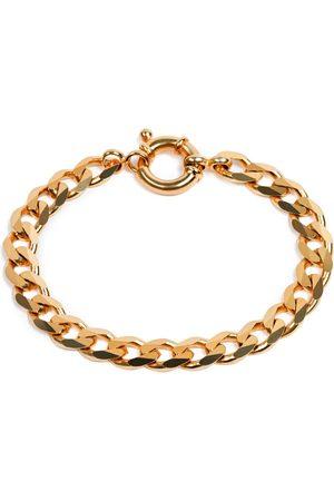 Undefined Jewelry Flat Chain Bracelet