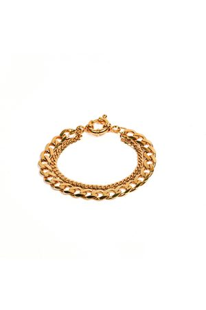Undefined Jewelry New Flat Curb Chain Bracelet