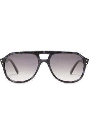 OLIVER GOLDSMITH Men Sunglasses - Glyn 1971 Blue Tortoiseshell