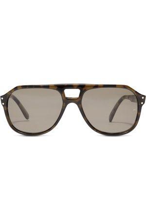 OLIVER GOLDSMITH Men Sunglasses - Glyn 1971 On Leopard