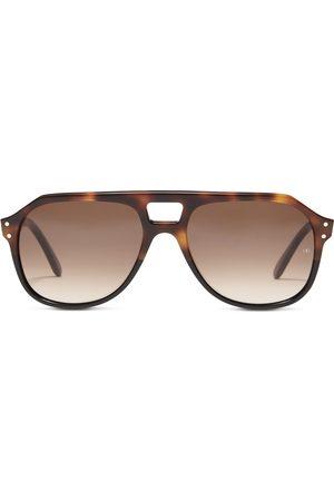 OLIVER GOLDSMITH Men Sunglasses - Glyn 1971 Dark Tortoiseshell