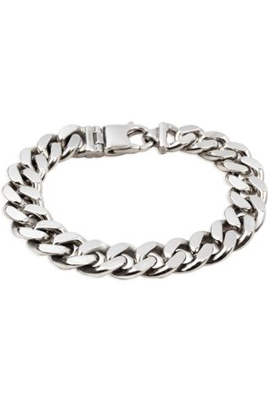 Undefined Jewelry Diamond Cut Flat Curb Chain Bracelet - 13.3mm