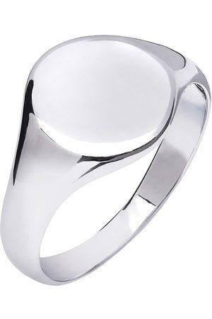 Men's Artisanal Silver Signet Ring Kaizarin
