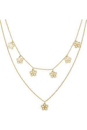 Amorcito Flower Child Layered Necklace