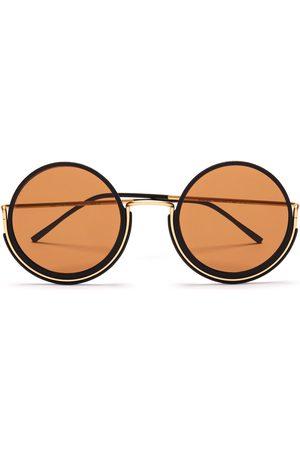 Wires Glasses 180 Gold/Black/