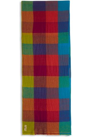 Men's Artisanal Wool Cashmere & Merino Scarf - Circus Burrows & Hare