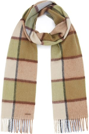 Men Scarves - Men's Non-Toxic Dyes Wool Hexham Scarf - Patch Hortons England