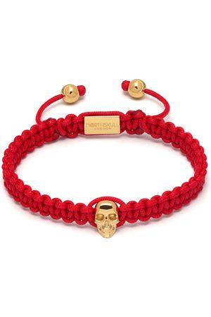Men Bracelets - Men's Gold Atticus Skull Macramé Bracelet Northskull