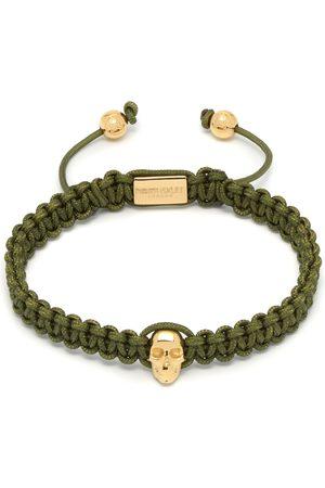 Men Bracelets - Men's Olive Atticus Skull Macramé Bracelet Northskull