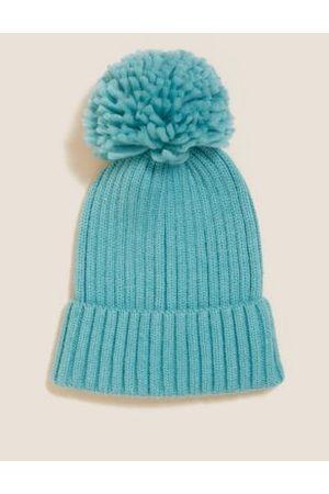 Kids' Pom Pom Winter Hat (1-13 Yrs)