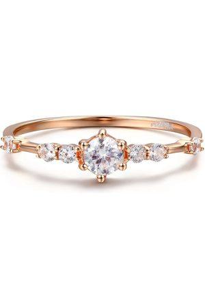 Azura Jewelry The Center Of The Universe White Topaz Ring