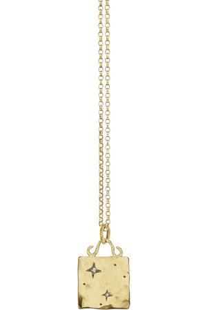 Yvonne Henderson Libra Constellation Square Tag Necklace