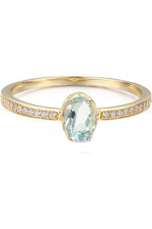 Azura Jewelry Women Rings - Aqua Ocean Ring