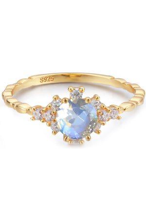 Azura Jewelry Women Rings - Clarity Moonstone Ring
