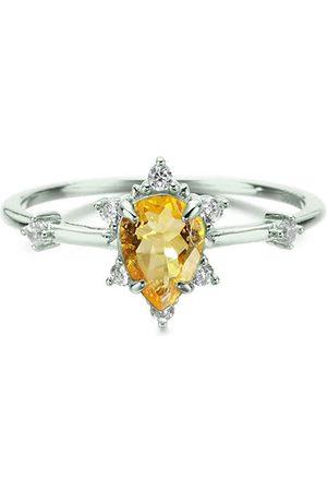 Azura Jewelry Women Rings - Gaia Citrine Ring