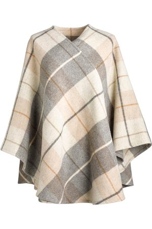 Women's Low-Impact Natural Wool Katie 100% Brushed Lambs Cape Fia Clothing