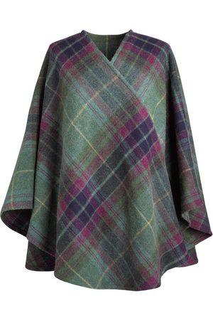 Women's Low-Impact Wool Barbara 100% Brushed Lambs Cape Fia Clothing