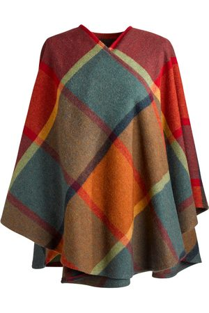 Women's Low-Impact Wool Saoirse 100% Brushed Lambs Cape Fia Clothing