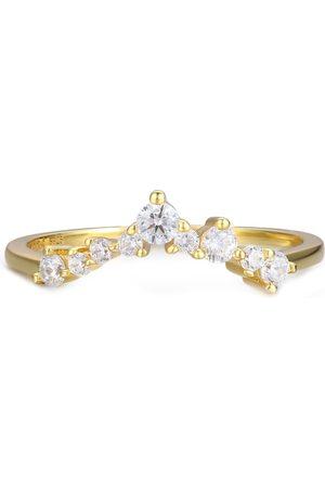 Azura Jewelry Twinkle Band Yellow Ring