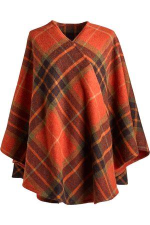 Women Ponchos & Capes - Women's Low-Impact Wool Ashling 100% Brushed Lambs Cape Fia Clothing