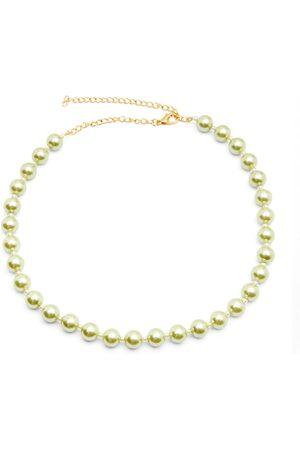 Women's Artisanal Green A Pearly Girl Chain Miss Mathiesen