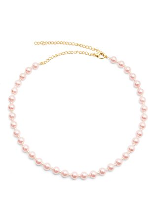 Women's Artisanal Pink A Pearly Girl Chain Miss Mathiesen